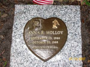 sister's tombstone